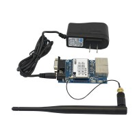 HLK-RM04 Embedded UART-ETH-WIFI wireless Router Development Module + Antenna