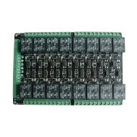 16 Channel Relay Module Control Board  5V 9V 12V 24V PLC Drive Board