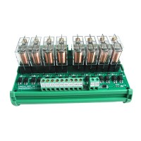 8 Channel Relay Module Drive Board Amplifier Board PLC 3.3V 5V 12V 24V