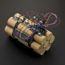 Hurt Locker (Fake Defusible Bomb) Kit DFRduino UNO Controller for Room Escape Party Games