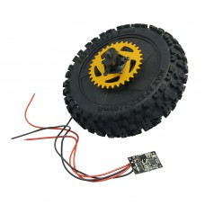 Rear wheel with all parts assembled for SkyRC SR4 SK-700002-10