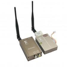 Taiwan 1.2G 1.3G FPV 7W 7000mw Strengthen Version Transmitter + Receiver Long Distance Telemetry Set