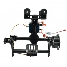 FPV Aerial Photography 2 axis Brushless Gimbal Camera Mount Ptz w/ Motor&Gimbal Controller for ILDC 5N GH2/3