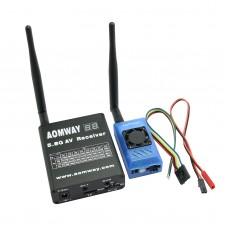 AOMWAY FPV 5.8G 1000mw Transmitter Receiver TX +TX VTR & VTX 15CH Telemetry Fatshark ImmersionRC Compatible