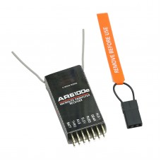 AR6100E 2.4G 6CH RC Receiver AR6210 AR500 AR6100 Airplane Helicopter - DSX7 DSX9 Compatible