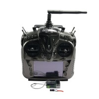 "Walkera DEVO 12S With Telemetry Function 12Ch 4.7""Touch Screen with RX1202 Receiver+RX+Aluminum Case"