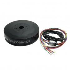 iPower Gimbal Brushless Motor Sealed Case GBM8028-90T w/Slipring 5.5kg.cm Torque for Red Epic/Black Magic camera gimbal
