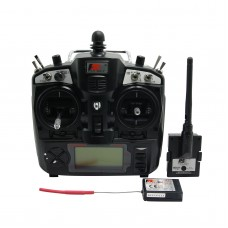 Genuine FlySky 2.4G 9CH FS-TH9X 9 Channel Transmitter + Receiver Radio System Remote Controller RC Plane Helicopter Multirotor