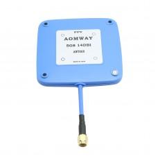 AOMWAY 5.8G 14dbi Pad Antenna High Gaining Antenna Directional Antenna