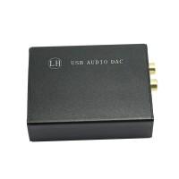HIFI External Sound Card USB DAC Decoder ES9023 + PCM2706 Decode Android DAC