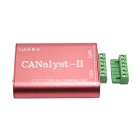 USB to CAN Analyzer USB-CAN Converter Adapter Dual-Channel Support ZLGCANpro