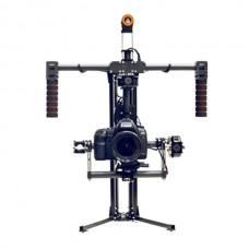 3-axis Handle Brushless Gimbal Action Handheld Stablizer w/ Holder & Case for 5D2/5D3/6D Camera