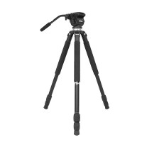 JY0509 Stand Aluminum Alloy Camera Tripod  Professional Monopod With PTZ Head for 5D2 Video
