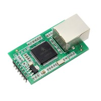 Serial RS232 RS485 To Ethernet TTL Level DHCP Web USR-TCP232-E Good Quality