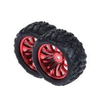 2PCS 72MM Deceleration Motor Wheel for Smart Robot Car Model Competition