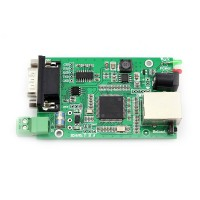 RS232 RS485 Serial To Ethernet TCP/IP Module With DHCP USR-TCP232-401-PCB