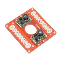 5V 12V Adjustable Voltage BEC Output ESC Distribution Board Connection Board Large Version 50*50mm