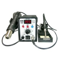 ATTEN AT 8586 2in1 Hot Air SMD Rework Soldering AT8586 Hot Air Soldering Iron AT-8586