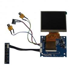 "3.5"" inch TFT LCD Car Rear View Digital Monitor DVD VCR 2CHs Video Gadgets"