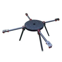 1250mm Folding Carbon Fiber Quadcopter for FPV Photography Agricultural Plant Protection