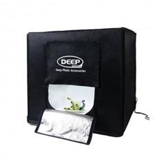 DEEP Portable LED Softbox Professional Photography Light Kit Studio Set 40cm Cube Box