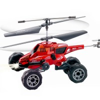 U821 Remote Control 3.5 Channel RC Helicopter Spinning Top Instrument Remote Control Helicopter