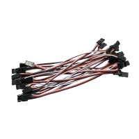 20pcs 10cm Servo Extension Lead Wire Cable MALE TO MALE KK MK MWC APM Flight Control
