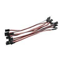 10pcs 15cm Servo Extension Lead Wire Cable MALE TO MALE KK MK MWC APM Flight Control