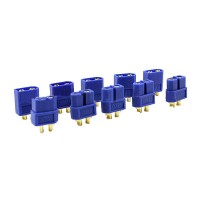 5 Pair XT60 Male Female Bullet Connectors Plugs For RC LiPo Battery Multicopte Blue