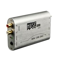 MUSE DA10 PCM2704 USB DAC Mini DAC Digital Decoder Headphone Amplifier + Adaptor
