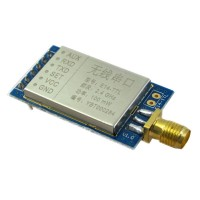2.4G 100Mw Wireless Serial Port Transmission Transmitter Module Transparent Telemetry w/ Shield Cover