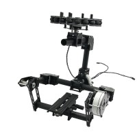 3 Axis Carbon Fiber Brushelss Gimbal Frame Kit for DSLR 5d/GH3/GH4 Camera FPV Aerial Photography