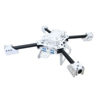SAGA E450T 450mm Folding 4-Axis Carbon Fiber Quadcopter Multicopter Frame Support X4 X8 w/Landing Gear for Aerial FPV