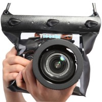 GQ-518 DSLR SLR Digital Camera Waterproof Outdoor Underwater Housing Case Pouch Dry Bag for Canon / Nikon