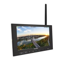 "LILIPUT 339/W 7"" FPV Monitor w/ Single 5.8GHz Receiver for FPV Photography"