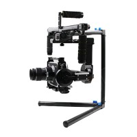 DYS-FUNN 3-Axis Handle Brushless Gimbal Camera Stabilizer with 32Bit Controller for BMCC 5D3 Photography