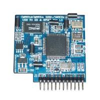 CM6631A USB TO IIS+SPDIF 192K/32bit V1.3 Convertor Board USB to Coxial SPDIF+IIS