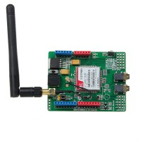 SIM900 Quad-band GSM GPRS Shield Development Board + Antenna For Arduino