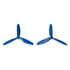 Tarot 6 Inch Three Blade Propeller One Pair Blue TL400E3 for Quad Mini300 350 QAV Multicopter