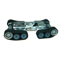 Tank Chassis Track Platform Smart Robotic Car Over Obstacle  for DIY Customized