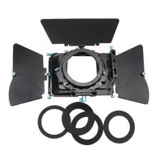 7D 5D2 550D DSLR Camera Professional Matte Box Sunshade