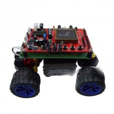 Sound Controlled Smart Robot Car Kits w/ Drive Board 61 Control Board Support USB Download