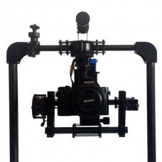 Mini Tank Handheld 3-axis Electronic Stabilizer Gimbal Support A7.GH for Micro DSLR