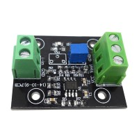 Current to Voltage Sensor Module 4-20mA to 1-5V Output Transmitter w/ Base