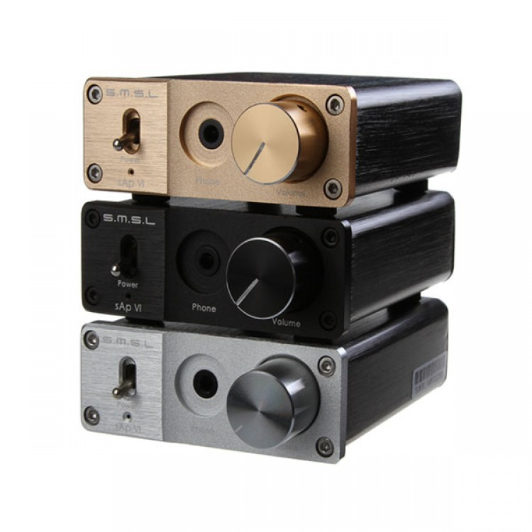 SMSL sAp VI Dac with Power Supply 96KHZ/16/24BIT Headphone