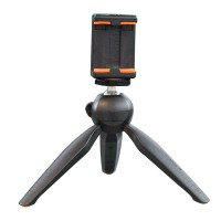 Yunteng YT-228 Mini Tripod w/ Phone Holder Clamp for Smartphone Sumsung iPhone 6 5S