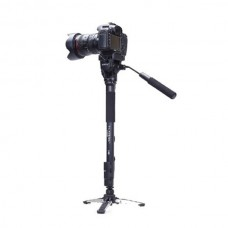 Yunteng VCT-288RM Aluminium Monopod Tripod with Fluid Pan Head for DSLR DV Camera Photography