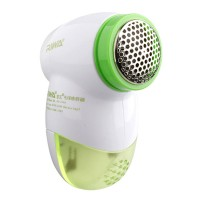 Riwa Lint Removers Clothes Ball Remover Stainless Steel Blade Electric Fabric Shaver-Green