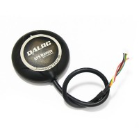 DALRC UBLOX NEO-7M GPS Built in Compass High Preceision GPS w/ PIX Interface & GPS Holder