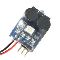 2-6S Power Monitor BB Ring Low Voltage Display Alarm Dual Buzzer for Rc Helicopter Boat Car